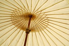 Met de hand gemaakte paraplu stock afbeeldingen