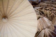 Met de hand gemaakte paraplu Stock Foto's