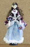 Met de hand gemaakte pop in een baltoga Royalty-vrije Stock Afbeelding
