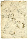 Met de hand gemaakte rijstpapiertextuur Stock Afbeeldingen