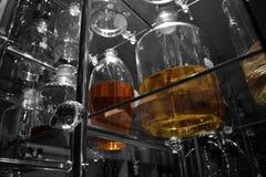 Met de hand gemaakte soorten smakelijke wijnen Royalty-vrije Stock Afbeelding