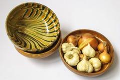 Met de hand gemaakte traditionele potten Royalty-vrije Stock Foto