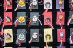 Met de hand gemaakte trinkets Stock Foto