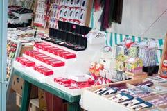 Met de hand gemaakte trinketsboxen royalty-vrije stock foto
