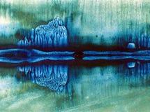Met de hand gemaakte waterverf abstracte heldere kleurrijke weefselachtergrond E modern vector illustratie