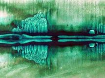 Met de hand gemaakte waterverf abstracte heldere kleurrijke weefselachtergrond E modern stock illustratie