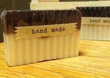 Met de hand gemaakte zeep Stock Foto's