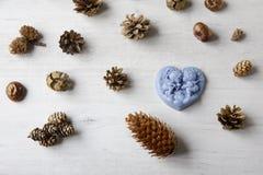 Met de hand gemaakte zeep als gift Stock Fotografie