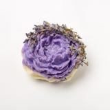 Met de hand gemaakte zeep als rozen, aromatherapy bloemen, kuuroord royalty-vrije stock foto