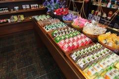 Met de hand gemaakte zeep in Chiang Mai, Thailand Stock Fotografie
