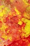 Met de hand geschilderde Abstracte Gouache Stock Afbeeldingen