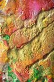 Met de hand geschilderde Abstracte Gouache Royalty-vrije Stock Foto's