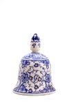 Met de hand geschilderde ceramische klok Stock Fotografie