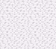 Met de hand geschreven I-Liefde u naadloze achtergrond Het patroon van het liefdebericht voor kaart en ambachtdocument Vector ill Royalty-vrije Stock Afbeeldingen