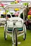 Met drie wielen Stock Afbeelding