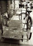 Met drie wielen Stock Foto's