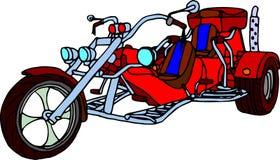 Met drie wielen Royalty-vrije Stock Fotografie