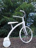 Met drie wielen - de macht van het cycluspedaal Stock Afbeelding