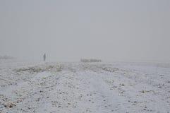 Met en place l'hiver Photos libres de droits