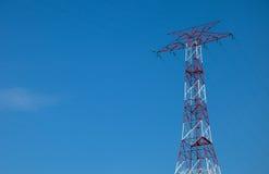 Met hoog voltage Stock Fotografie