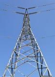 Met hoog voltage Stock Foto