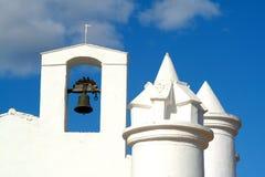 Met kapel stock afbeeldingen