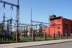 Met kolen gestookte Elektrische centrale Stock Afbeelding