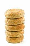 Met laag vetgehalte ongezuurde broodjes Royalty-vrije Stock Fotografie