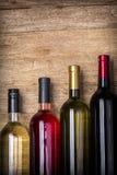 met le vin différent Photos libres de droits