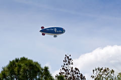 Met Life Blimp. Heading towards PGA Tour Transition Championship on March 22, 2009 at Innisbrook Golf Club stock images