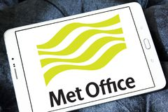 Free Met Office Weather Service Logo Stock Photography - 105233162