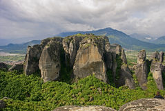 The Metéora, central Greece Stock Images
