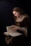 Met riet bedekkend boek - van het verleden Royalty-vrije Stock Fotografie