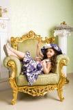 Met roze zonnebril Royalty-vrije Stock Afbeeldingen