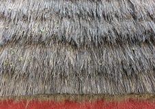 Met stro bedekt dak Stock Afbeelding
