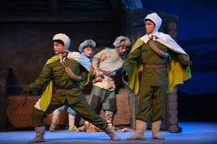 """Met tact en Opera discretie-Peking die Tiger Montain By Strategyâ €  """"Taking royalty-vrije stock afbeeldingen"""