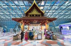 Met vrijstelling van rechten winkelend, Bangkok Stock Afbeeldingen
