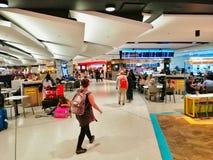 Met vrijstelling van rechten Winkelend in Sydney Airport, Australi? royalty-vrije stock afbeelding
