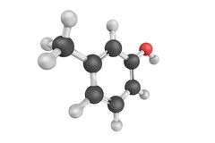 meta-cresol, ook als methylphenol die 3 wordt het bekend, is kleurloos, visc royalty-vrije stock foto's