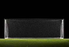 Meta del balompié de la meta del fútbol Fotografía de archivo