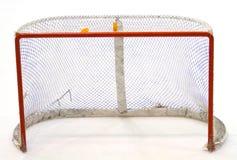 Meta del hockey Foto de archivo libre de regalías