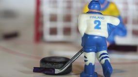 Meta del hockey sobre hielo almacen de video