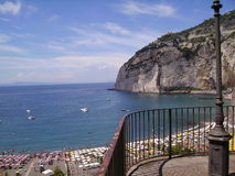 Meta di Sorrento. A view of Meta di Sorrento Coast (Salerno Naples Italy Stock Photos