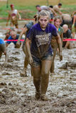 "meta do 21th †anual de Marine Mud Run "" Foto de Stock Royalty Free"