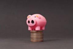 Meta financiera Imagen de archivo libre de regalías