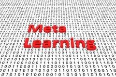 Meta learning Royalty Free Stock Photo