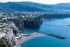Meta village of Sorrento, Italy Royalty Free Stock Photography