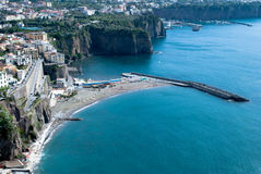 Meta village of Sorrento, Italy Royalty Free Stock Image