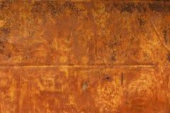 Metaal aangetaste textuur Royalty-vrije Stock Foto