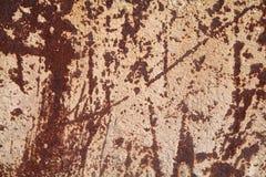 Metaal aangetaste textuur Royalty-vrije Stock Afbeelding